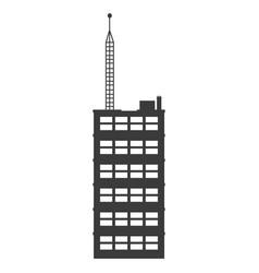 Buiilding facade architecture business city vector