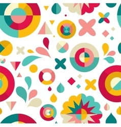 geometric pattern ans background vector image vector image