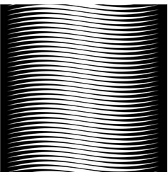 abstract background with horizontal wave lines vector image