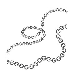 chain design vector image