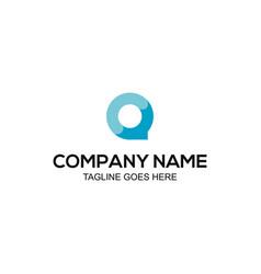 co-chat-idea-logo vector image