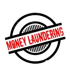 Money Laundering rubber stamp vector