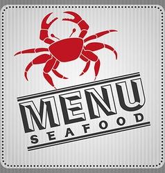 Sea food design vector