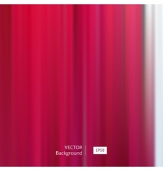 Abstract Red Striped and Blurred Background vector image vector image