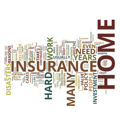 four reasons why you need to buy home insurance vector image vector image