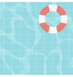 Background of swimming pool vector image