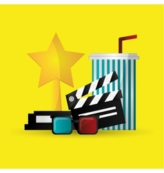 Cinema icon design vector image