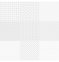 White Textures vector image