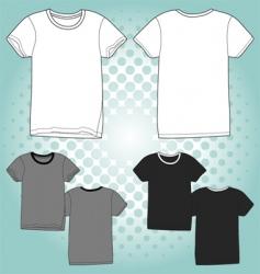 t shirt unisex vector image vector image
