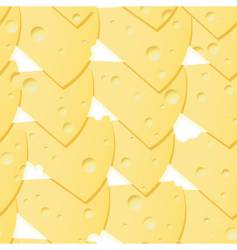 abstract cheese background vector image