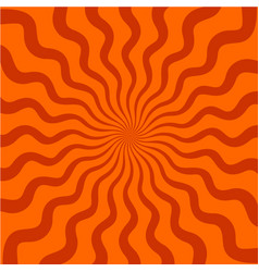 burst background with wavy curly lines vector image