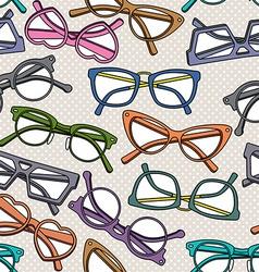 Glassespattern vector