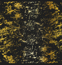 gold color grunge texture vector image