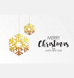Holiday christmas card made from triangles 3 vector
