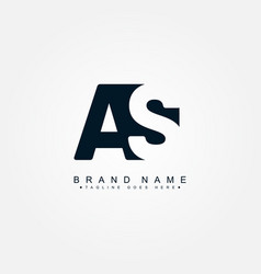 initial letter as logo - minimal business logo vector image