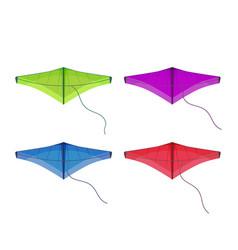 Kite flying festival vector