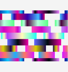 Seamless pattern with colorful stripes gradients vector