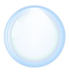 soap bubble vector image