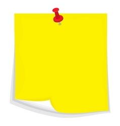 Sticky note4 resize vector image