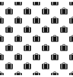 Suitcase pattern simple style vector