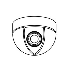 figure video camera technology computer icon vector image
