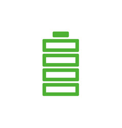 battery icon graphic design template isolated vector image
