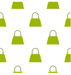 beautiful bag pattern seamless vector image