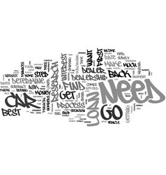 Best car loan text word cloud concept vector
