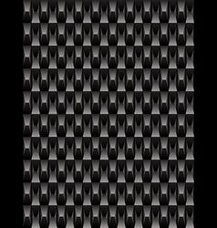 Black texture geometric seamless background vector image