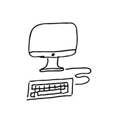 Computer sketh vector