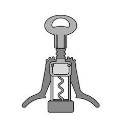 corkscrew for wine bottles vector image