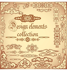 Design elements collection vector image