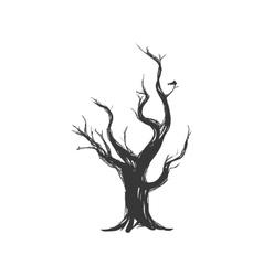 Dry tree icon nature design graphic vector