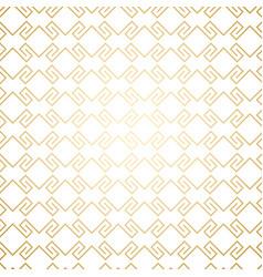 Golden seamless geometric pattern on white art vector