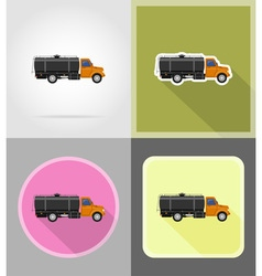 power and energy flat icons 12 vector image