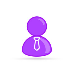 purple male gay bisexual profile picture vector image