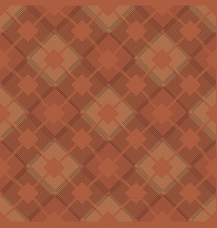 Subtle line squares seamless pattern vector