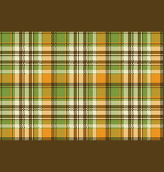 yellow abstract check pixel plaid seamless pattern vector image