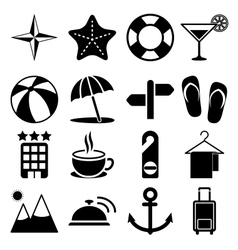 Travel Icons Vol2 vector image vector image