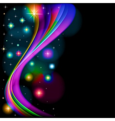 abstract background with glowing vector image vector image