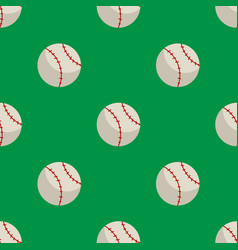 ball seamless pattern vector image