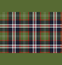 Blue green check plaid seamless pattern vector