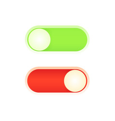 design a power on off button for your application vector image