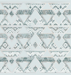 greek geometric seamless pattern vector image