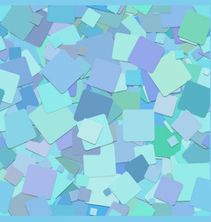 Light blue seamless abstract square pattern vector