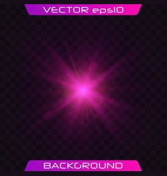 transparent shining sun vector image