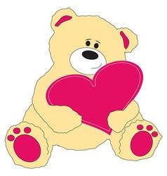 Valentine Teddy vector