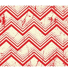 Vintage geometric pattern with dirt texture old vector image