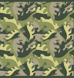 decorative leaves against a military style vector image