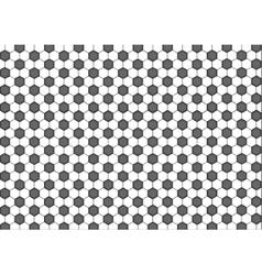Modern seamless geometry pattern hexagon black vector image vector image